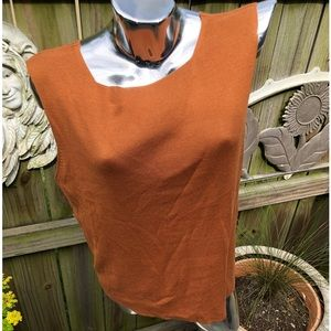 NWT Scoop Neck Knit Shell. XL